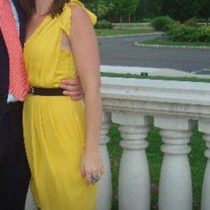BCBG Marigold cocktail dress